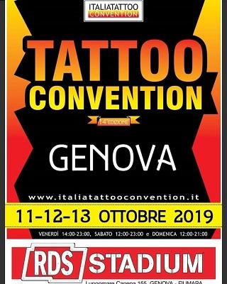 Italian Tattoo Convention 11-12-13 Ottobre 2019. Moai Body Piercing - Jonathan 347.0661852 - Salita del Prione 2r - 16123 Genova