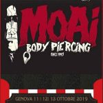 Report International Tattoo Convention 11-12 Ottobre 2019 GENOVA. Moai Body Piercing - Jonathan 347.0661852 - Salita del Prione 2r - 16123 Genova