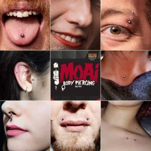 Genova Tattoo Convention. Moai Body Piercing - Jonathan 347.0661852 - Salita del Prione 2r - 16123 Genova