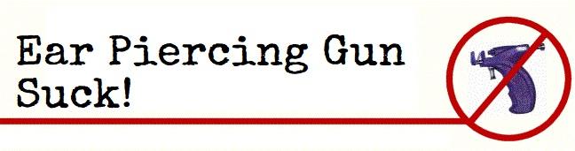 No Piercing Gun-Suck -Moai Body Piercing - Jonathan 347.0661852 - Salita del Prione 2r - 16123 Genova